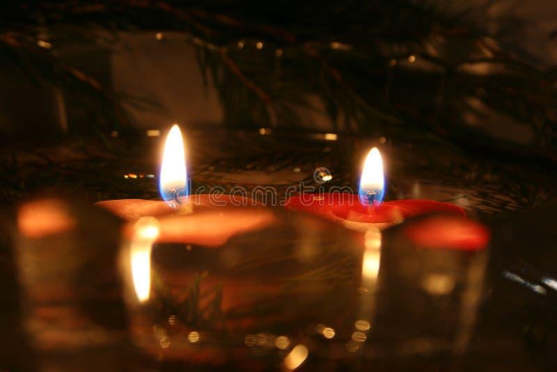 Deux bougies 05 photos libres de droits