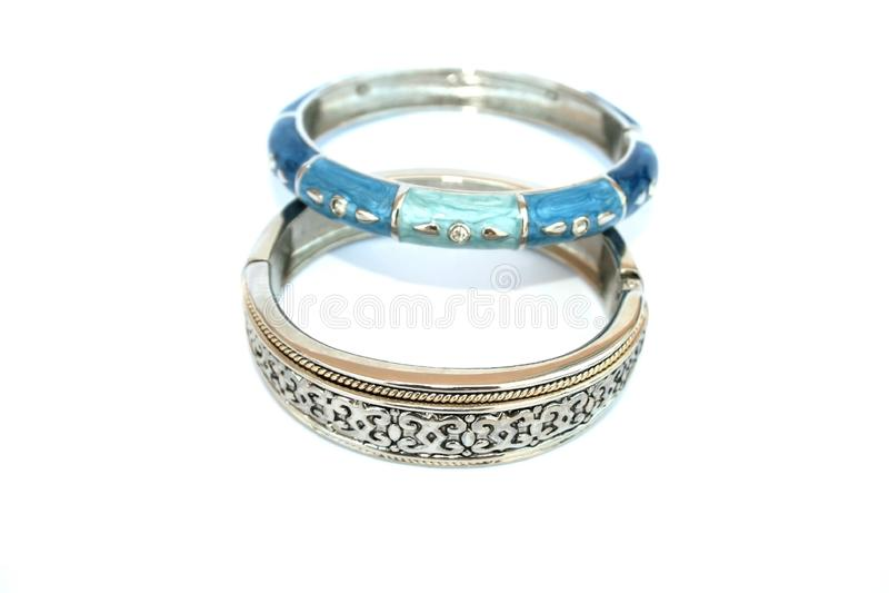 Deux bracelets photos stock