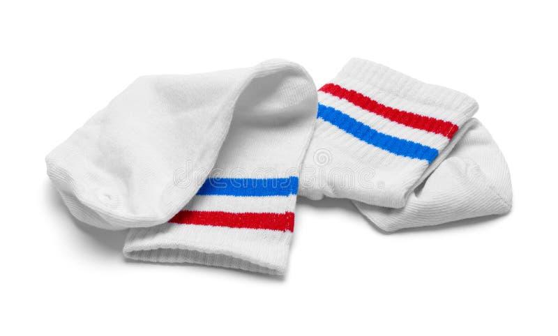 Deux chaussettes images stock