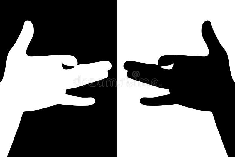 Deux crabots images libres de droits