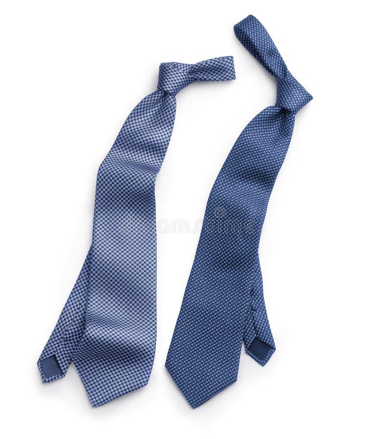 Deux cravates image stock