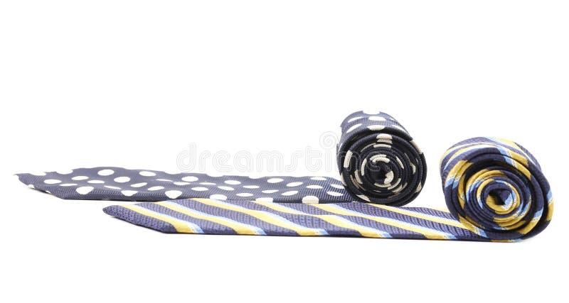 Deux cravates photos libres de droits