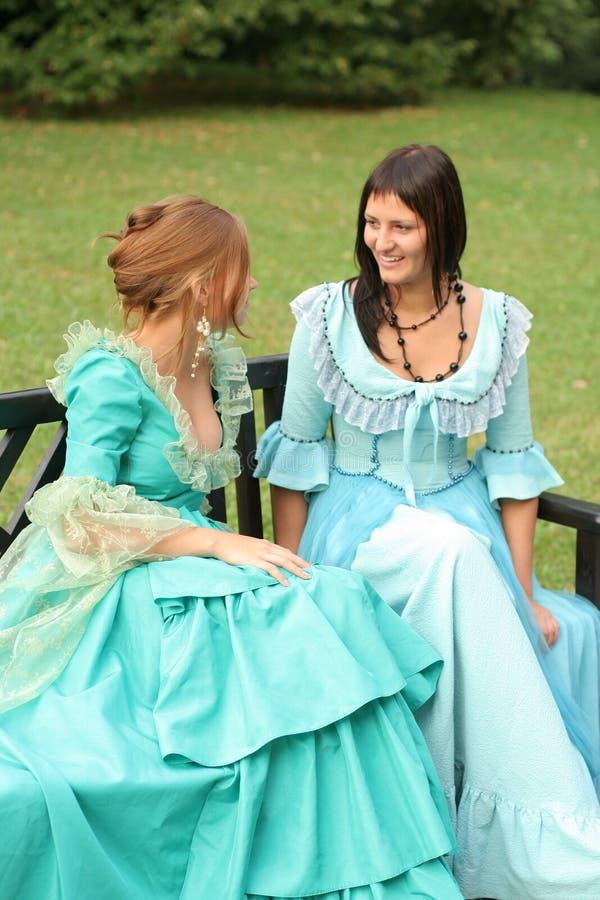 Deux dames photos libres de droits