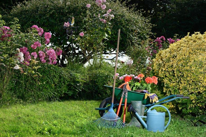 Deux de jardinage image libre de droits