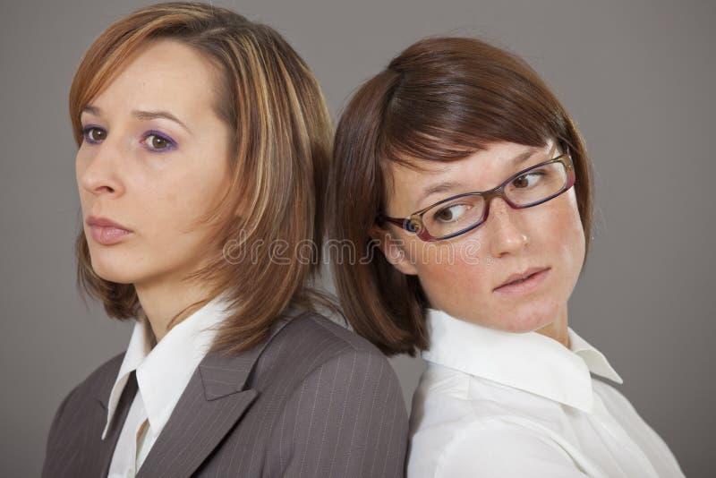 Deux femmes d'affaires photographie stock