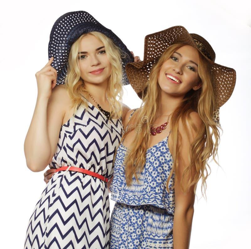 Deux filles de meilleurs amis photos stock
