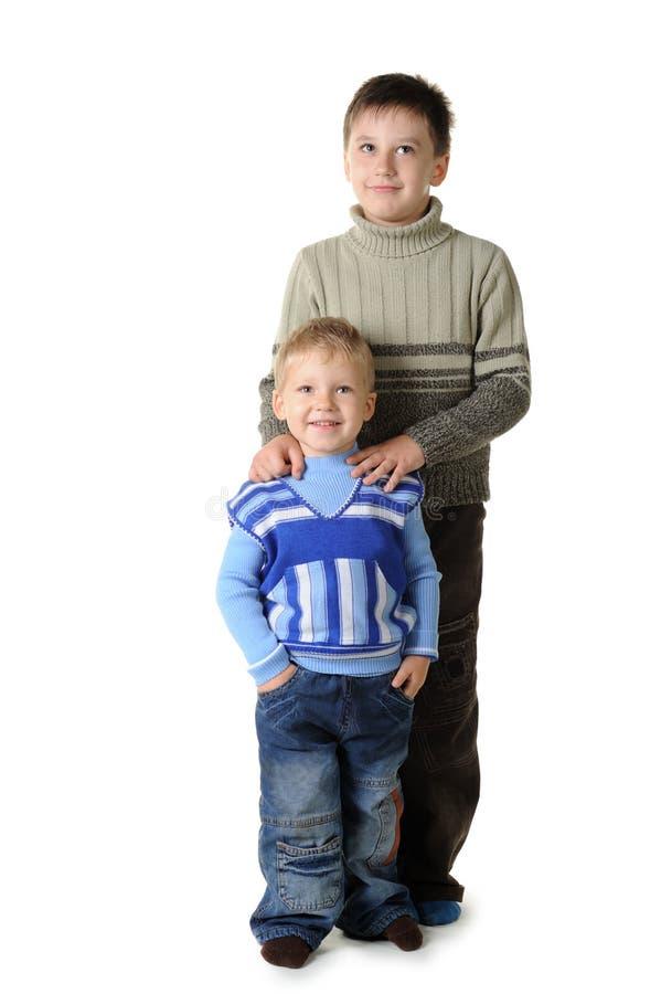 Deux frères photos stock
