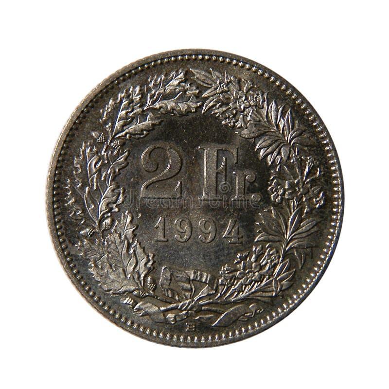 Deux Francs Français Images stock