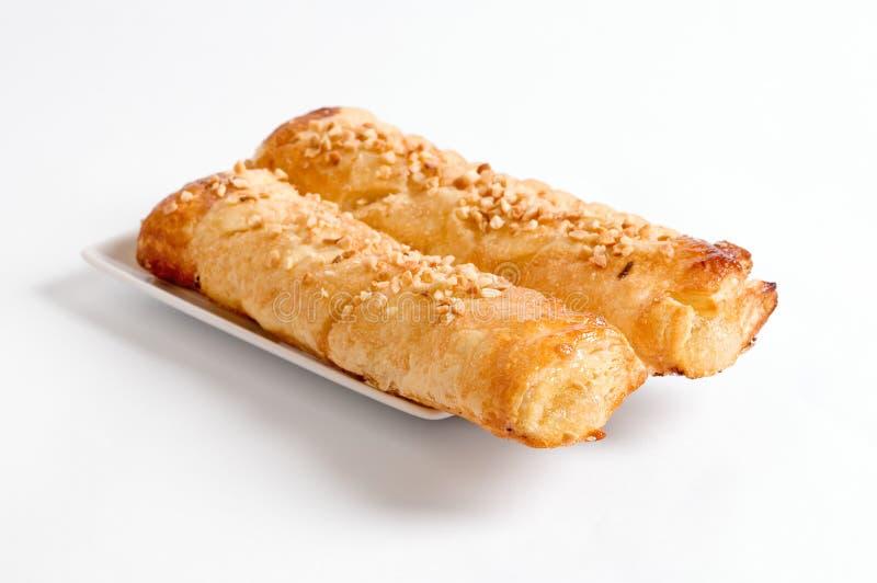 Deux gâteaux pour le déjeuner images libres de droits