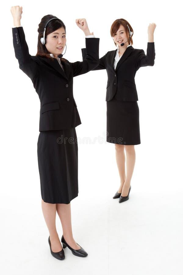 Deux gens d'affaires photographie stock