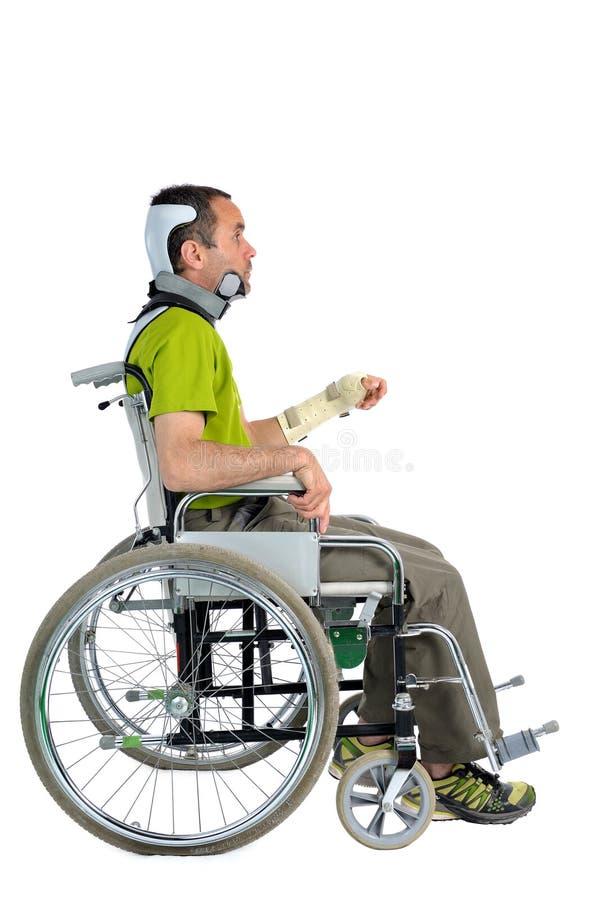 Deux handicapés photographie stock