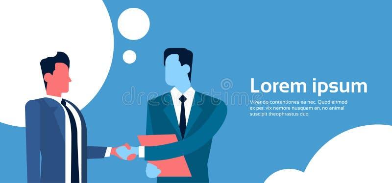 Download Deux Homme D'affaires Hand Shake, Concept D'accord De Poignée De Main D'homme D'affaires Illustration de Vecteur - Illustration du affaires, handshake: 77158348
