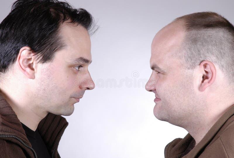 Deux hommes II photographie stock libre de droits