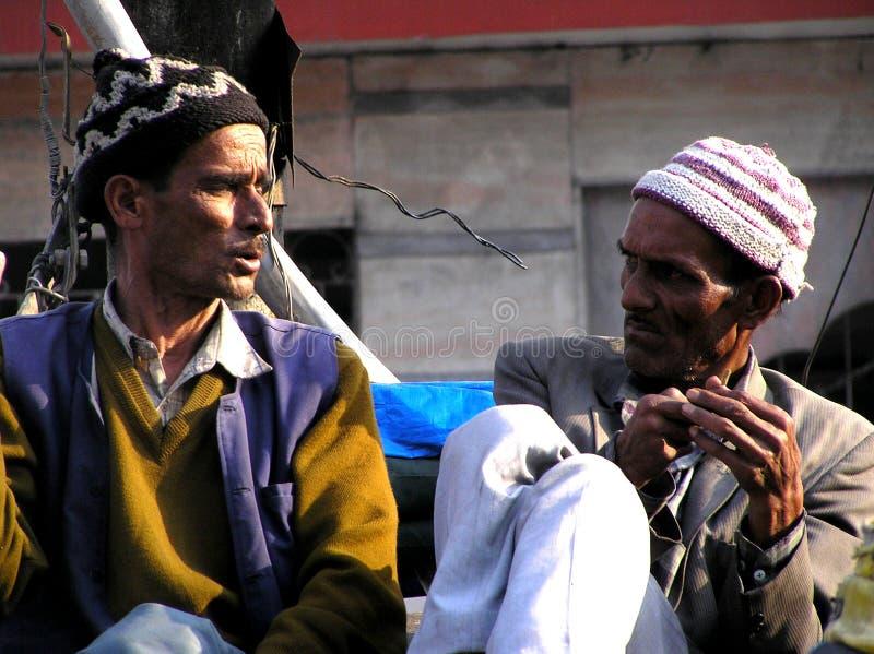 Deux hommes indiens photos libres de droits