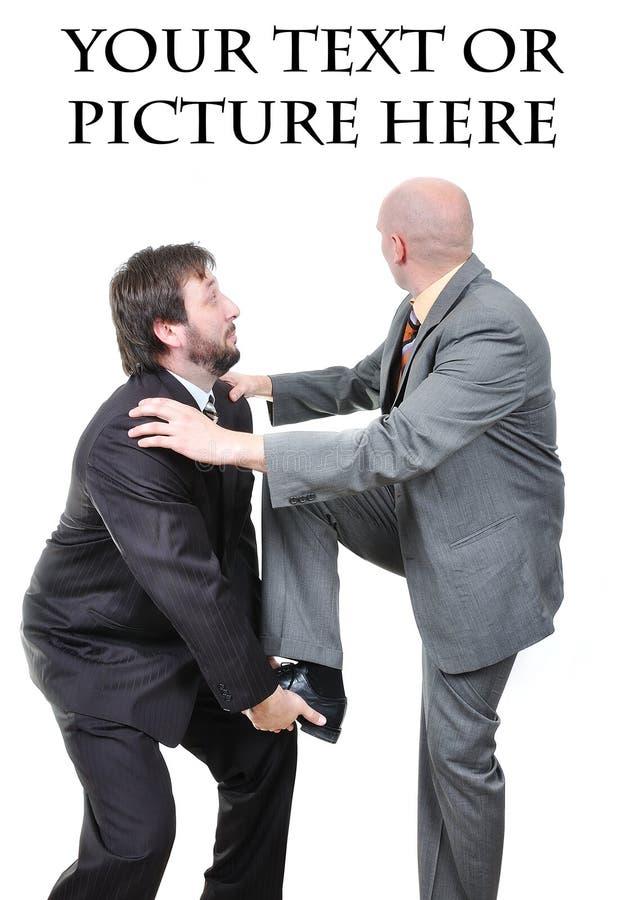 Deux jeunes hommes d'affaires attirants images stock
