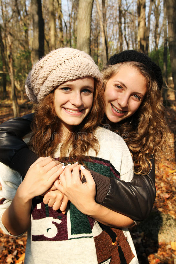 Meilleurs amis photo libre de droits