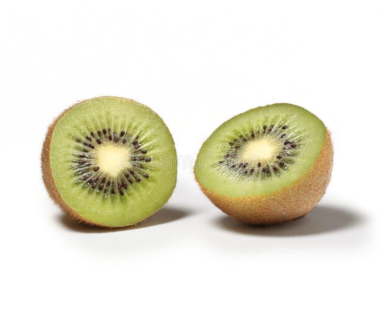 Deux moitiés de kiwi image stock