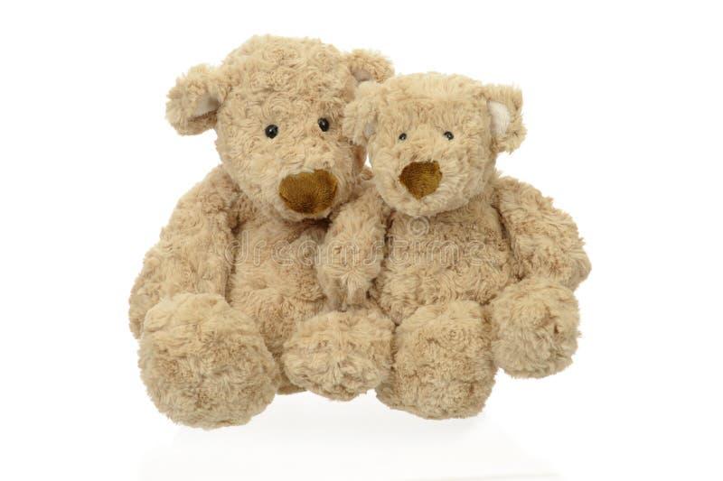 Deux ours de nounours images libres de droits