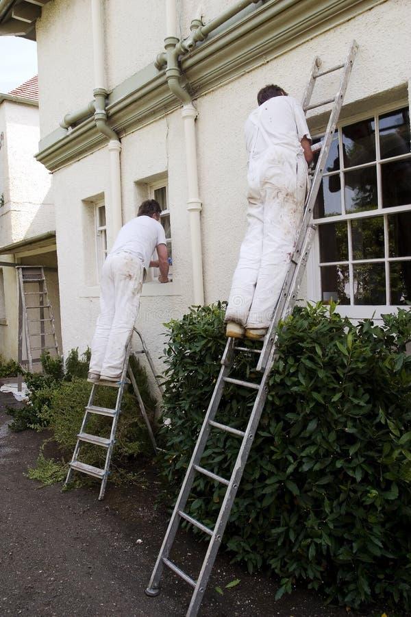 Deux peintres 2 image libre de droits