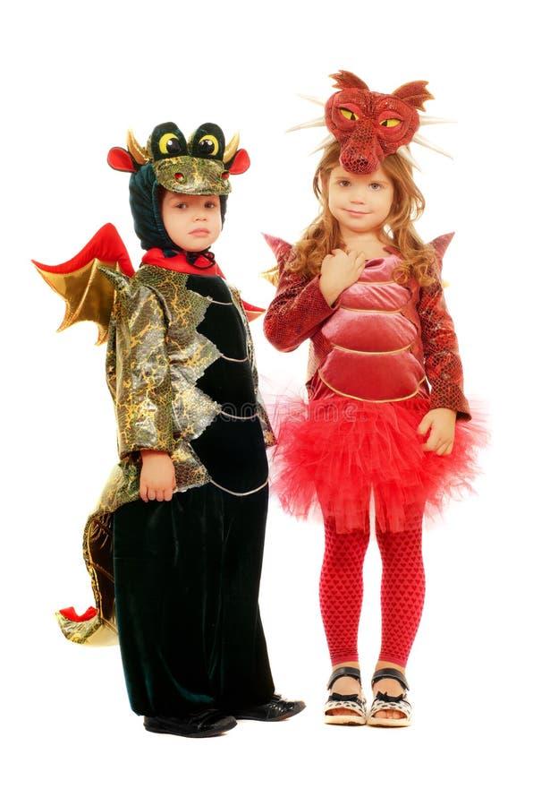 Deux petits enfants images stock