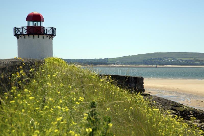 Download Deux phares, port Burry photo stock. Image du bristol - 56481952
