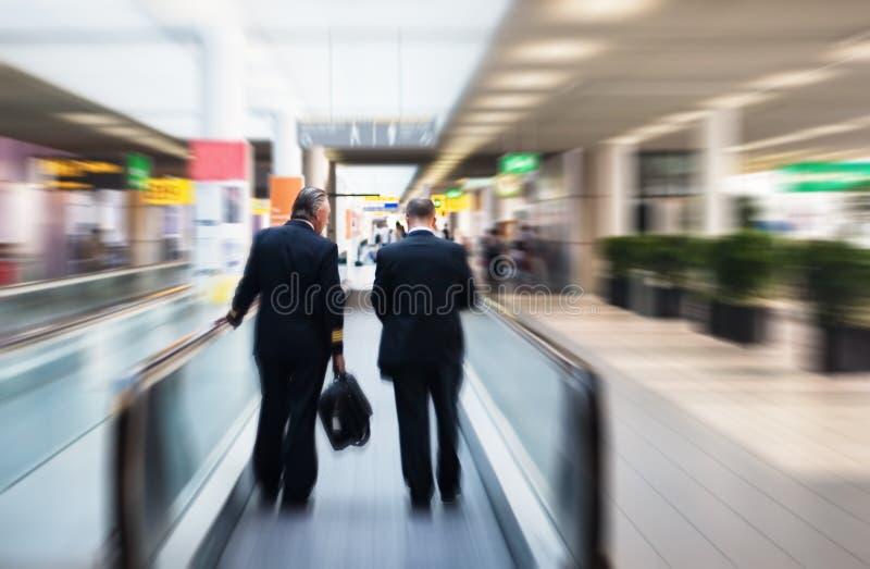 Deux pilotes images libres de droits