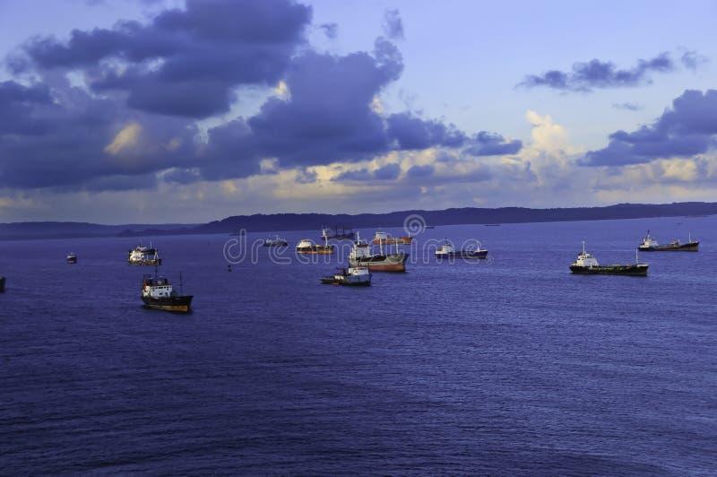 Deux points Panama photo libre de droits