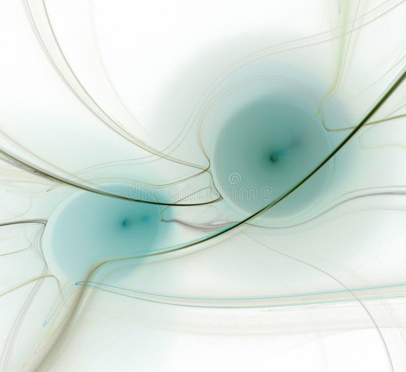 Deux sphères illustration stock