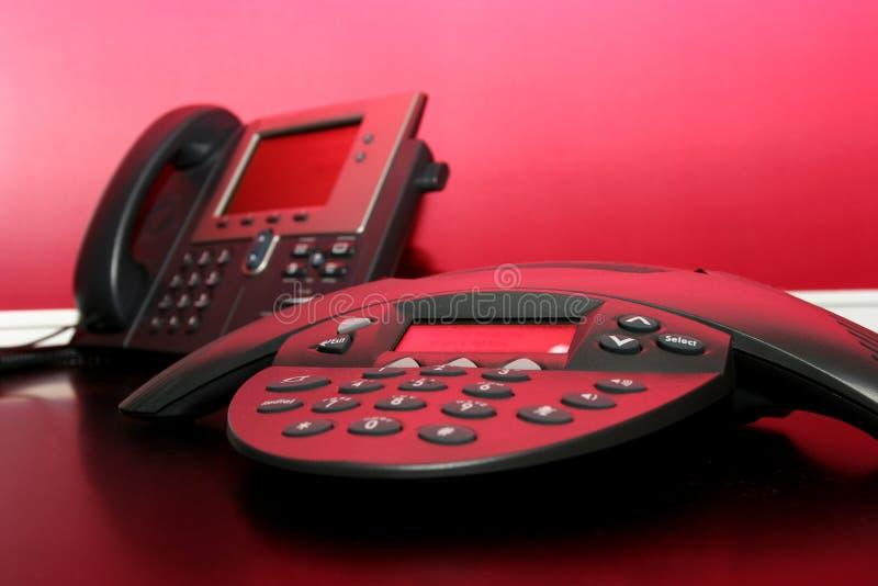 Deux Téléphones Photo libre de droits