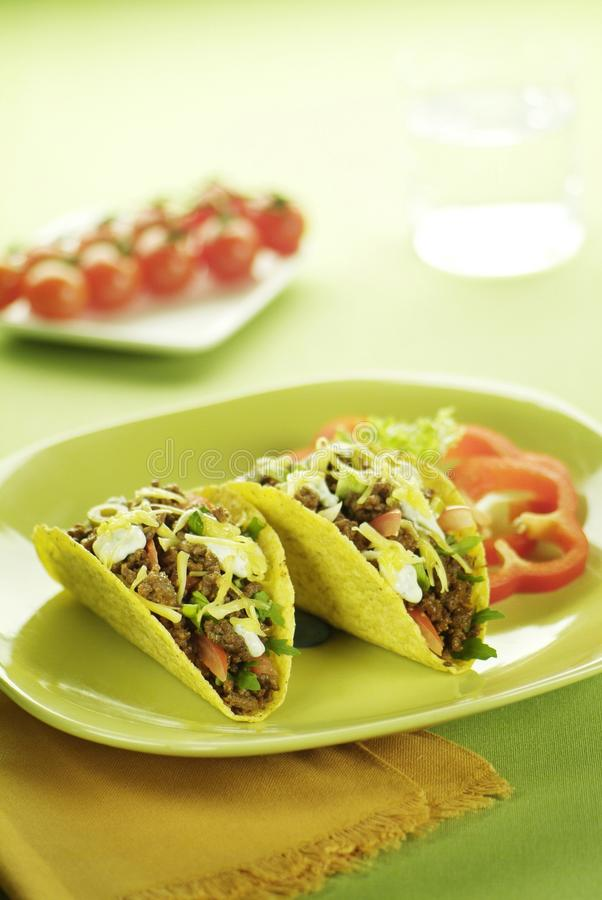 Deux Tacos images libres de droits