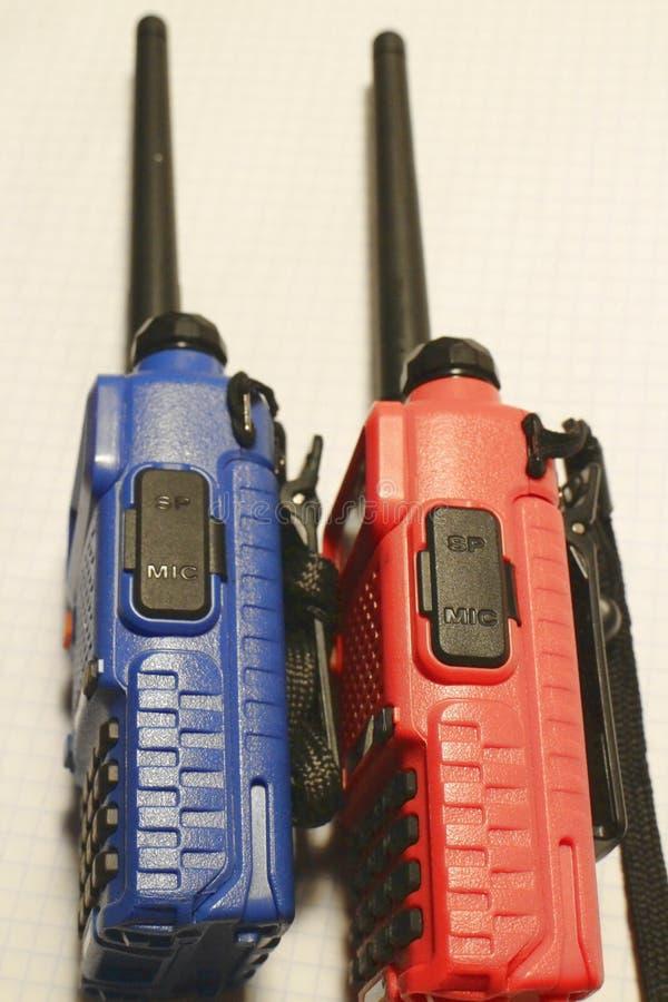 Deux talkies-walkies image stock