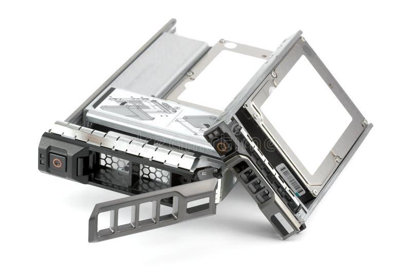 Deux unités de disque dur de Hot-Swap différent image stock
