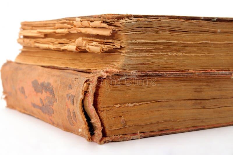 Deux vieux livres photos libres de droits