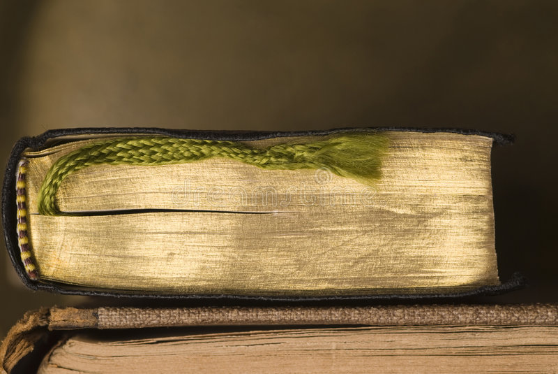 Deux vieux livres image libre de droits
