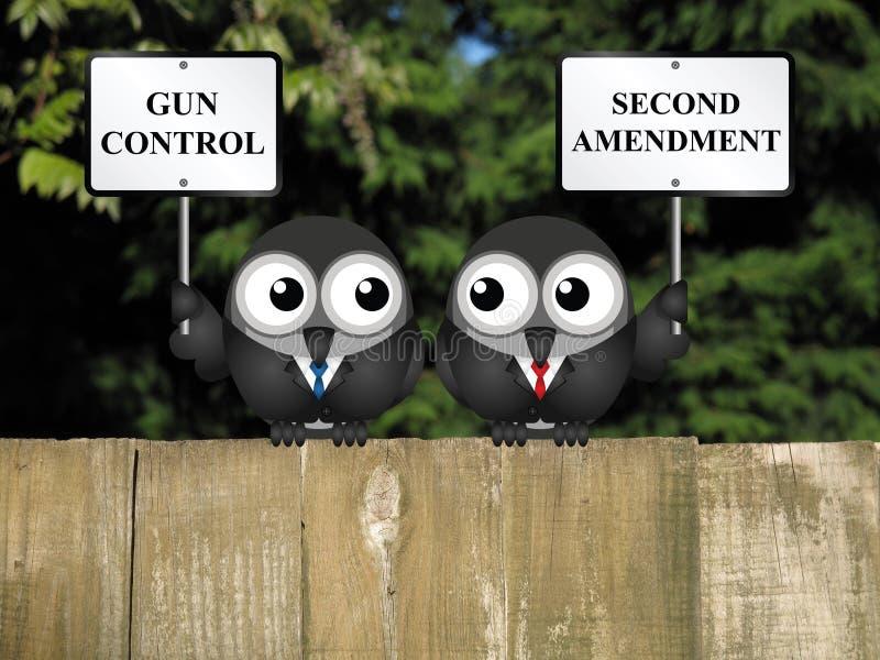 Deuxième amendement photographie stock libre de droits