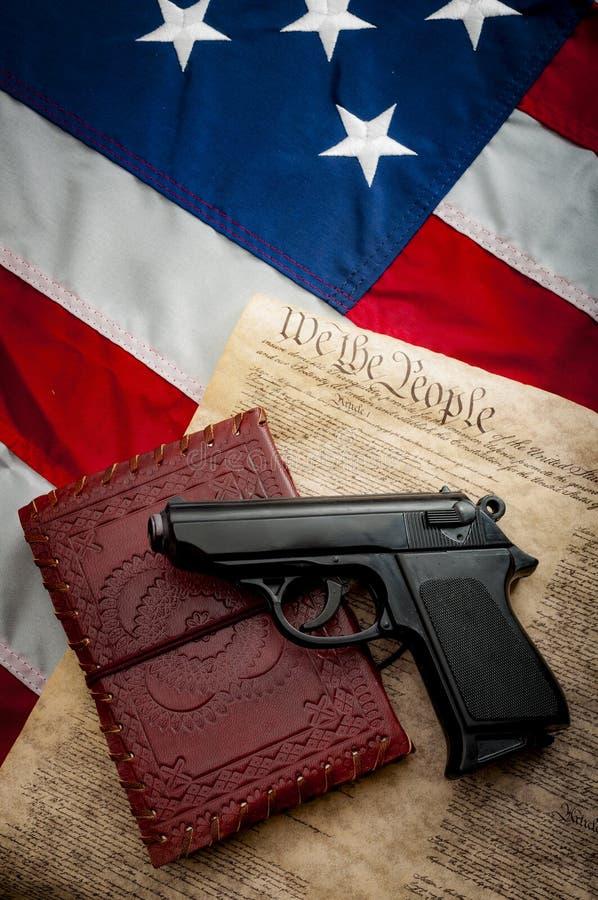 Deuxième amendement image stock
