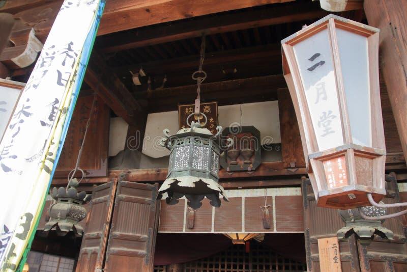 Deuxième hall de mois de ji de Todai photos stock