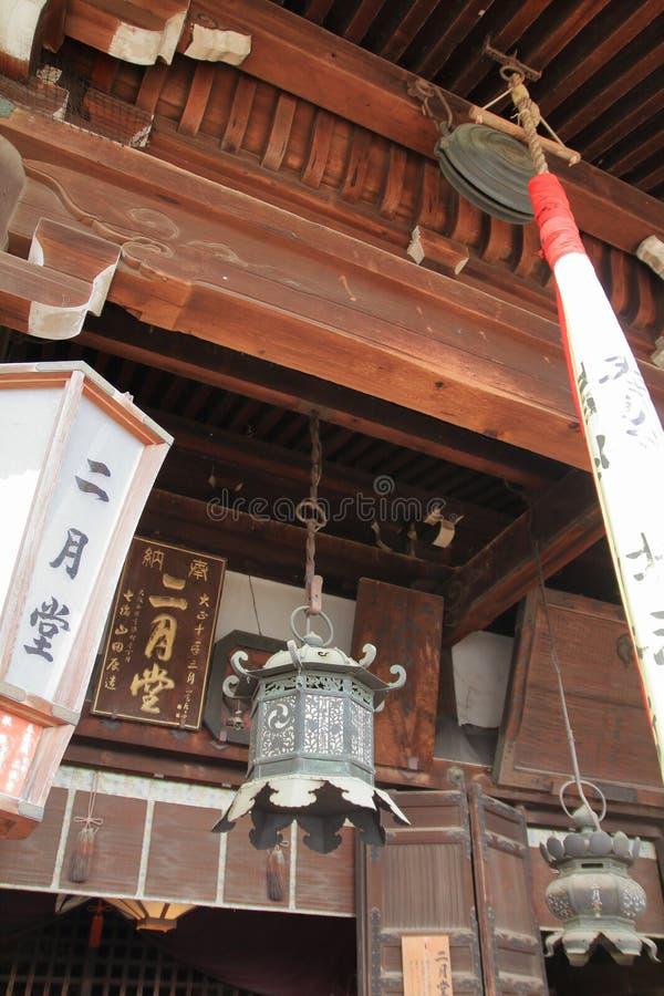Deuxième hall de mois de ji de Todai photos libres de droits