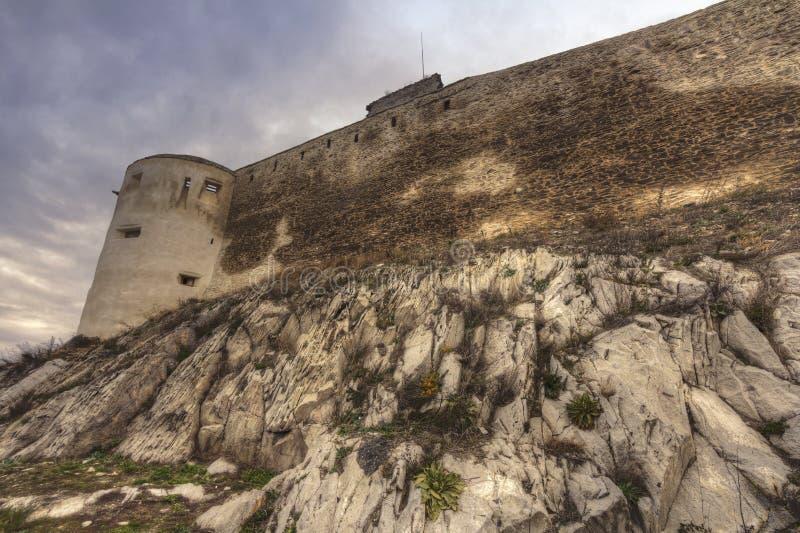Deva forteca w Europa, Rumunia zdjęcia royalty free