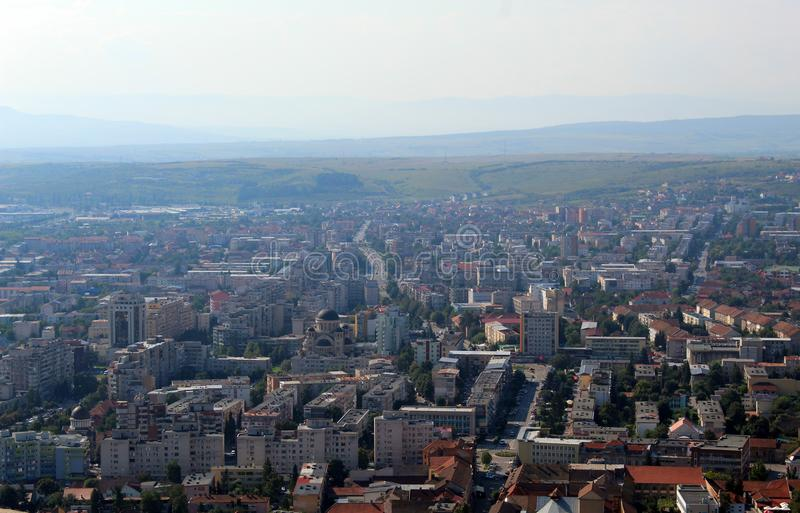 Deva miasto, Rumunia obrazy royalty free