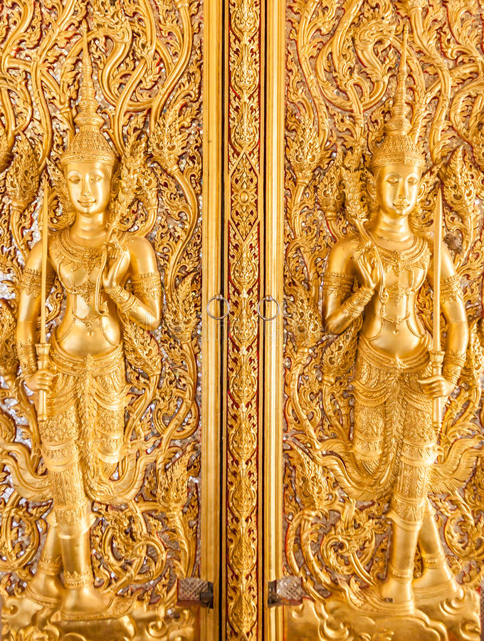 Deva Tajlandzki styl zdjęcie royalty free
