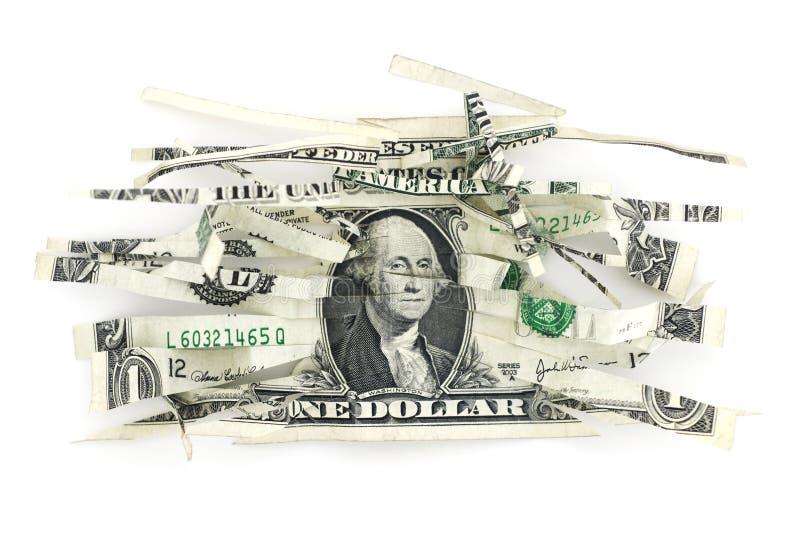 Devaluación del Dólar fotografía de archivo