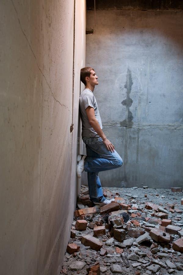 Download Devastation stock image. Image of brunette, depression - 10464267
