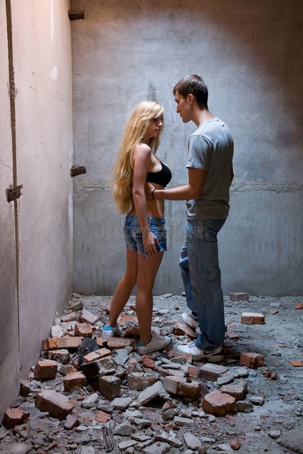 Download Devastation stock image. Image of alone, people, grunge - 9135631
