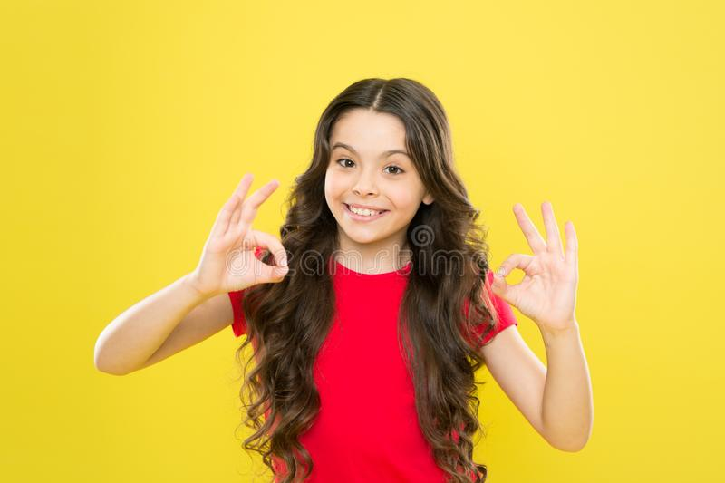 Develop talent. Girl artistic kid practicing acting skill. Enter acting academy. Playful teen model. Acting skills royalty free stock photos