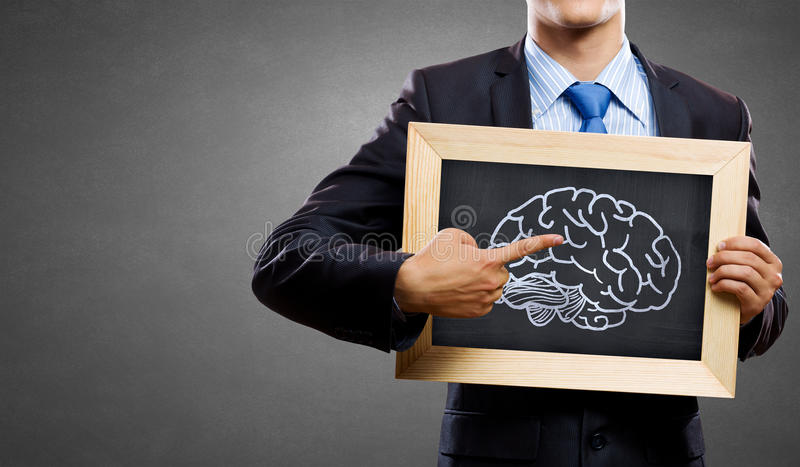 Develope your mind potential royalty free stock photos