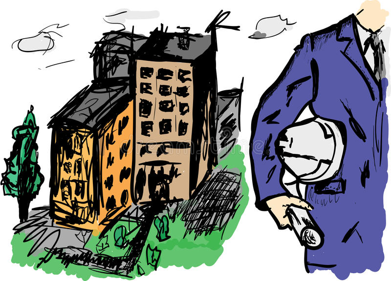 developer ilustracja wektor
