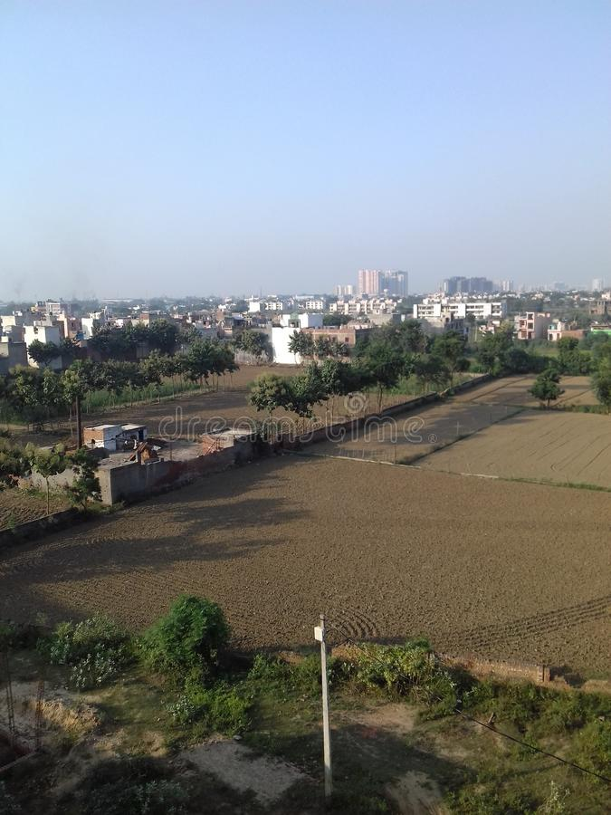 Developing Area. Ghaziabad Outer & x28;India& x29 royalty free stock photos