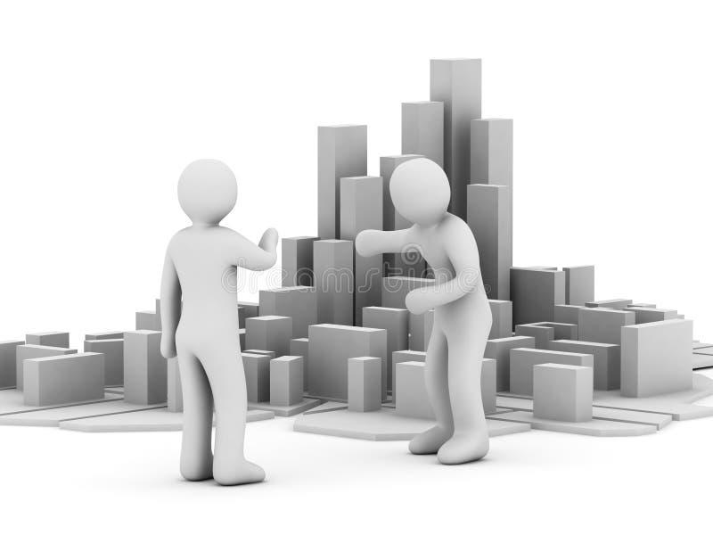 Download Development Of The Business Stock Illustration - Illustration: 6607118