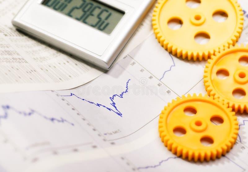 Development of economy stock photography